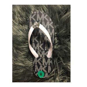 Authentic Michael Kors Logo Rubber PVC Flip Flops